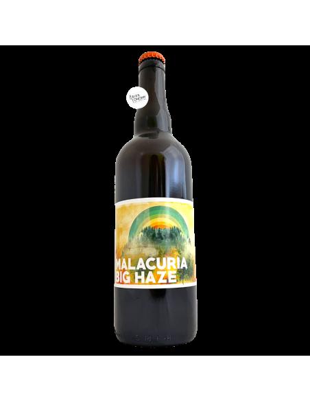 Bière Big Haze DIPA 75 cl Brasserie Malacuria