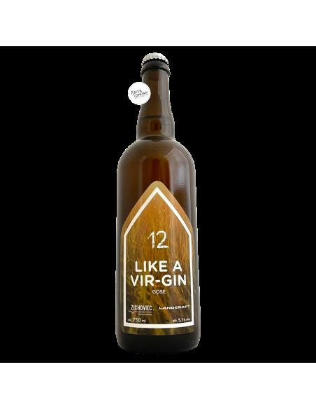 Bière Like A Vir-Gin Gose 75 cl Brasserie Zichovec