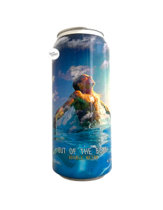 Bière Out of the Blue Double NEIPA 47,3 cl Brasserie Spartacus