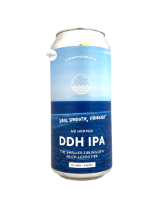 Sail Smooth, Friends NE DDH IPA 44 cl Cloudwater
