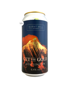 Get the Gold West Coast IPA 44 cl Burnt Mill