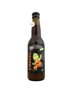 Bière Ambrée Bio 33 cl Brasserie Maelström