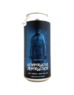 Bière Constructive Destruction Ghost 972 TIPA 47,3 cl Brasserie Adroit Theory