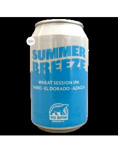 Bière Summer Breeze Wheat Session IPA 33 cl Brasserie 90 BPM