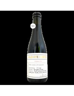 Bière Oud Rye Porter Bourgogne BA 37,5 cl Brasserie Les Intenables