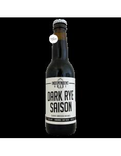 Bière Dark Rye Saison 33 cl Brasserie Independent House x Elixkir x Ducs