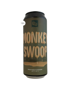 Bière Monkey Swoop Banana PassionFruit Smoothie Sour 50 cl Brasserie GAS Brew
