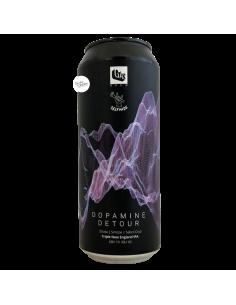 Bière Dopamine Detour Triple NEIPA 50 cl Brasserie GAS Brew x Selfmade