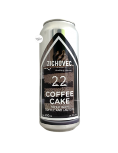 Bière Coffee Cake 22 Imperial Stout 50 cl Brasserie Zichovec