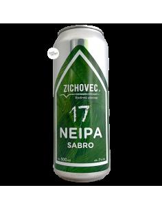 Bière NEIPA 17 Sabro 50 cl Brasserie Zichovec