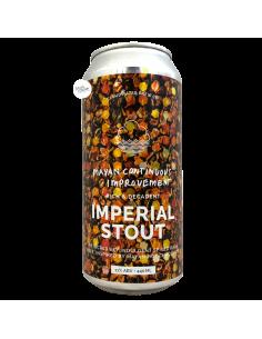 Bière Mayan Continuous Improvement Imperial Stout 44 cl Brasserie Cloudwater Brew Co
