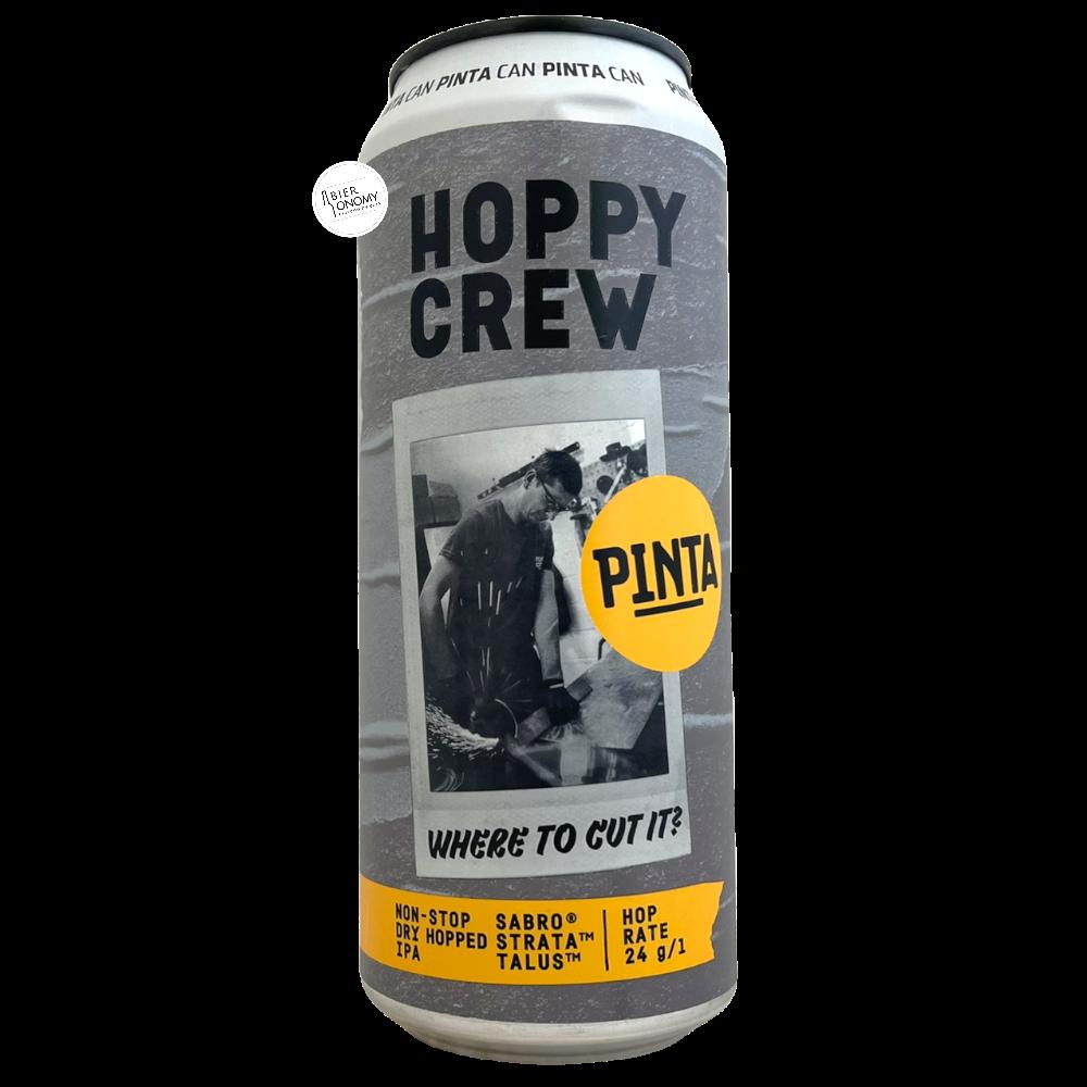 Hoppy Crew Where To Cut It? NE IPA 50 cl PINTA