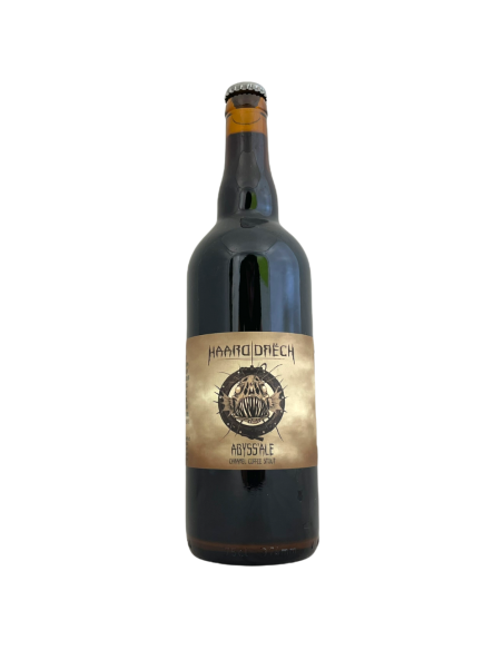 Bière Abyss'ale Caramel Coffee Stout 75 cl Brasserie Haarddrëch