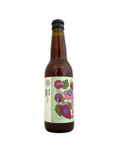 Bière Sour Framboise Rhubarbe 33 cl Brasserie Cambier