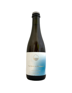 The World As We Know It Oak Matured Helles Bock 37,5 cl Cloudwater