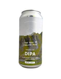Two Dogs On Chrome Hill DIPA 44 cl Cloudwater