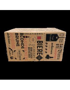 Calendrier Découverte 2021 24 bières craft Bieronomy