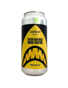 Even Sharks Need Water IPA 44 cl Verdant