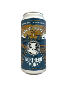 Order Of The Faith DDH IPA 44 cl Northern Monk x Alpha Delta