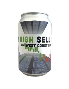 Buy High Sell Low West Coast DIPA 33 cl Lobik
