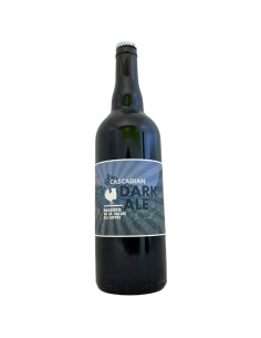Cascadian Dark Ale Black IPA 75 cl Vallée du Giffre