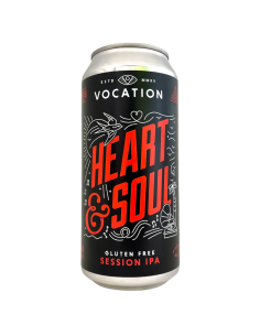 Heart & Soul Session IPA Gluten Free 44 cl Vocation