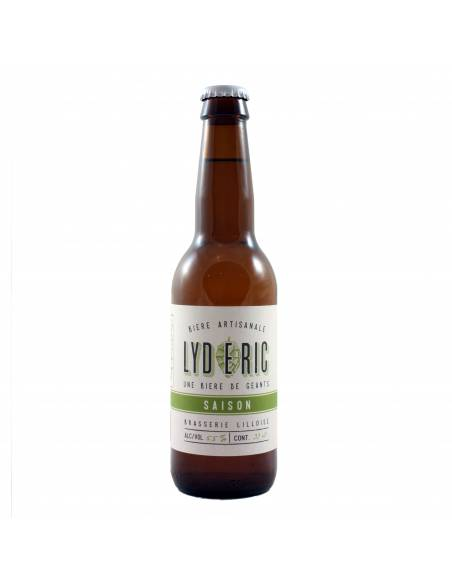 Lydéric Saison - 33 cl - Brasserie Lilloise