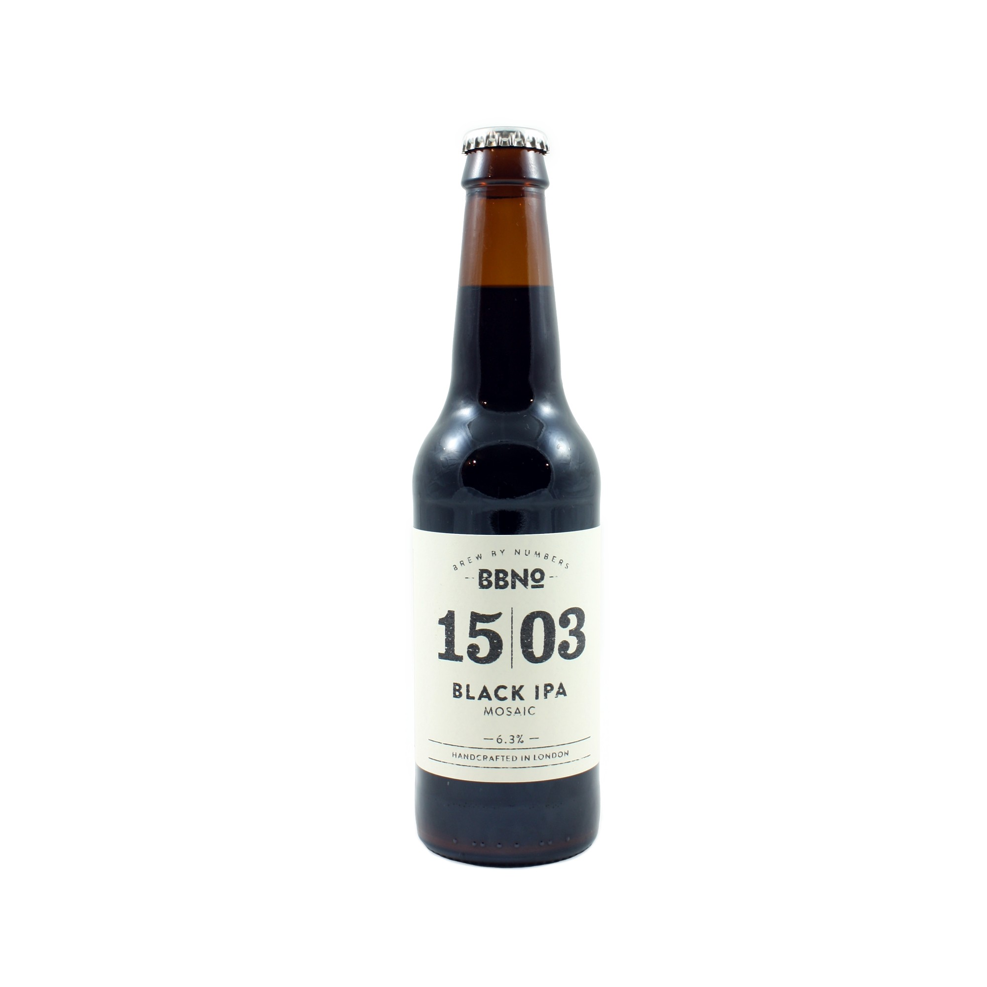 15/03 Black IPA Mosaic 33 cl
