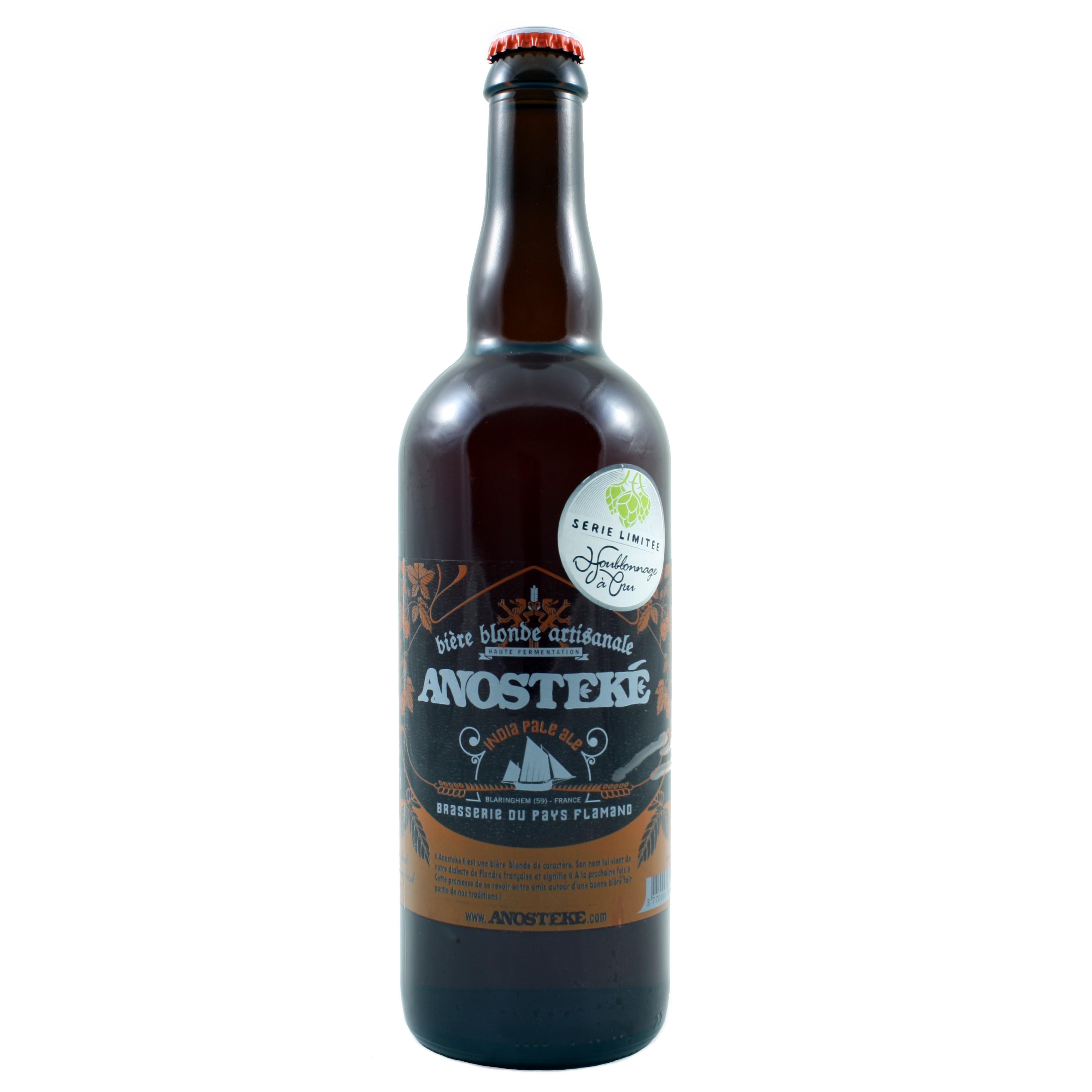 Anosteké India Pale Ale Dry Hopping 75 cl