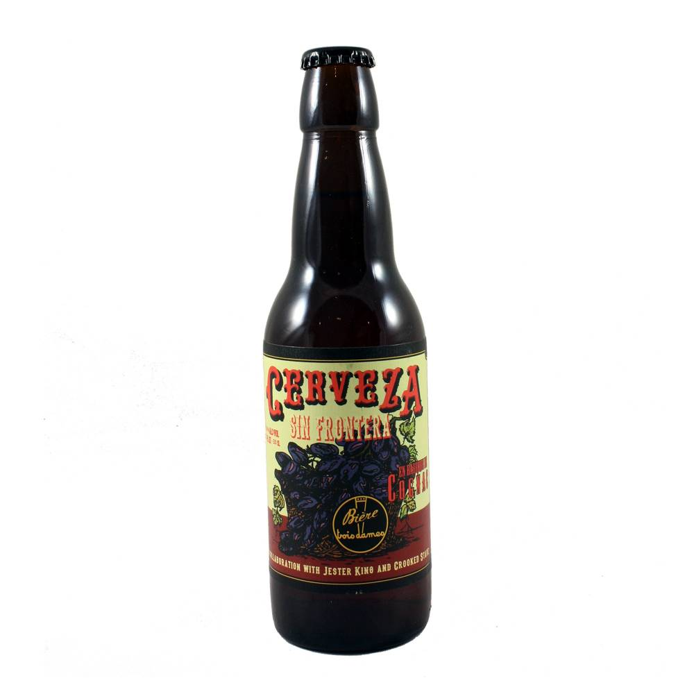 Cerveza Sin Frontera - 33 cl