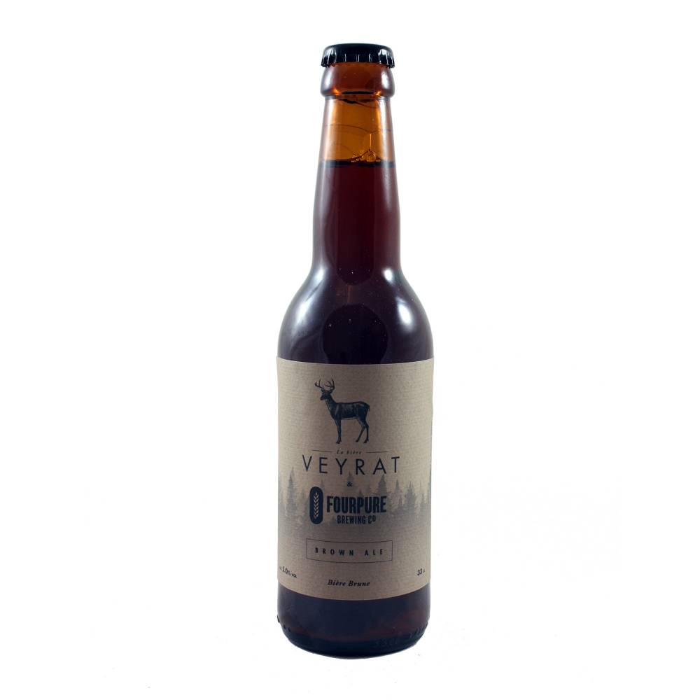 Brown Ale - 33 cl - Brasserie Veyrat x Fourpure Brewing Co