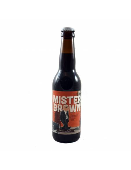 Mister Brown - 33 cl - The Piggy Brewing Company