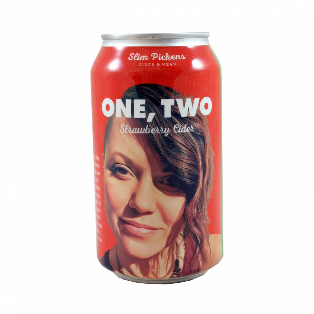 One, Two Strawberry 33 cl