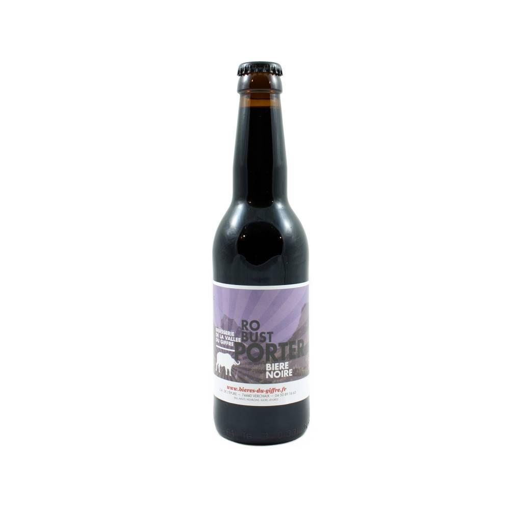 Robust Porter Bière Noire 33 cl