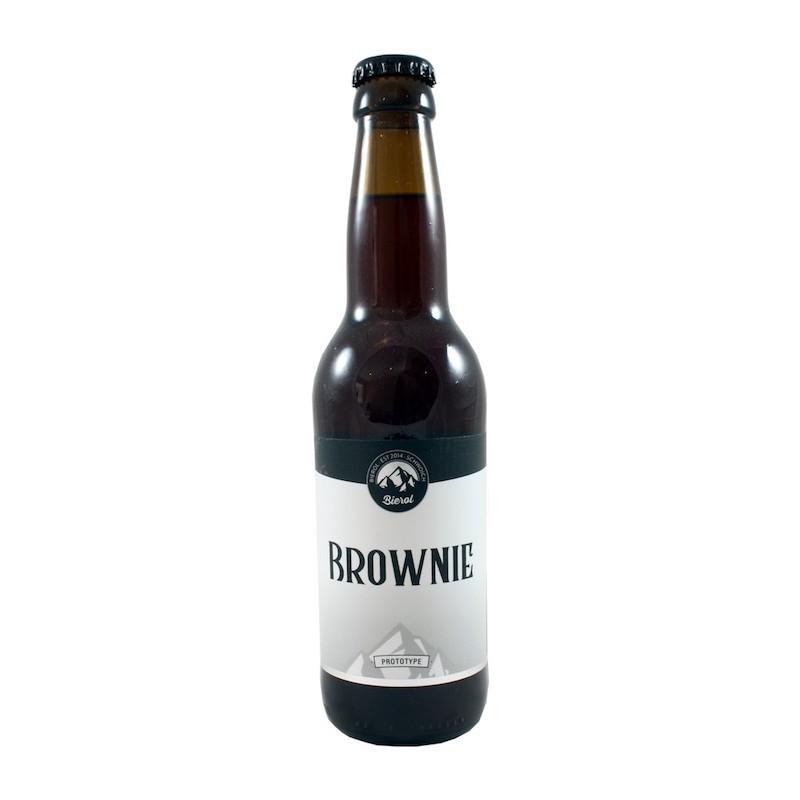 Brownie Bierol 33 cl