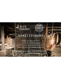 Atelier de dégustation CAMBIERONOMY 24 octobre 2018