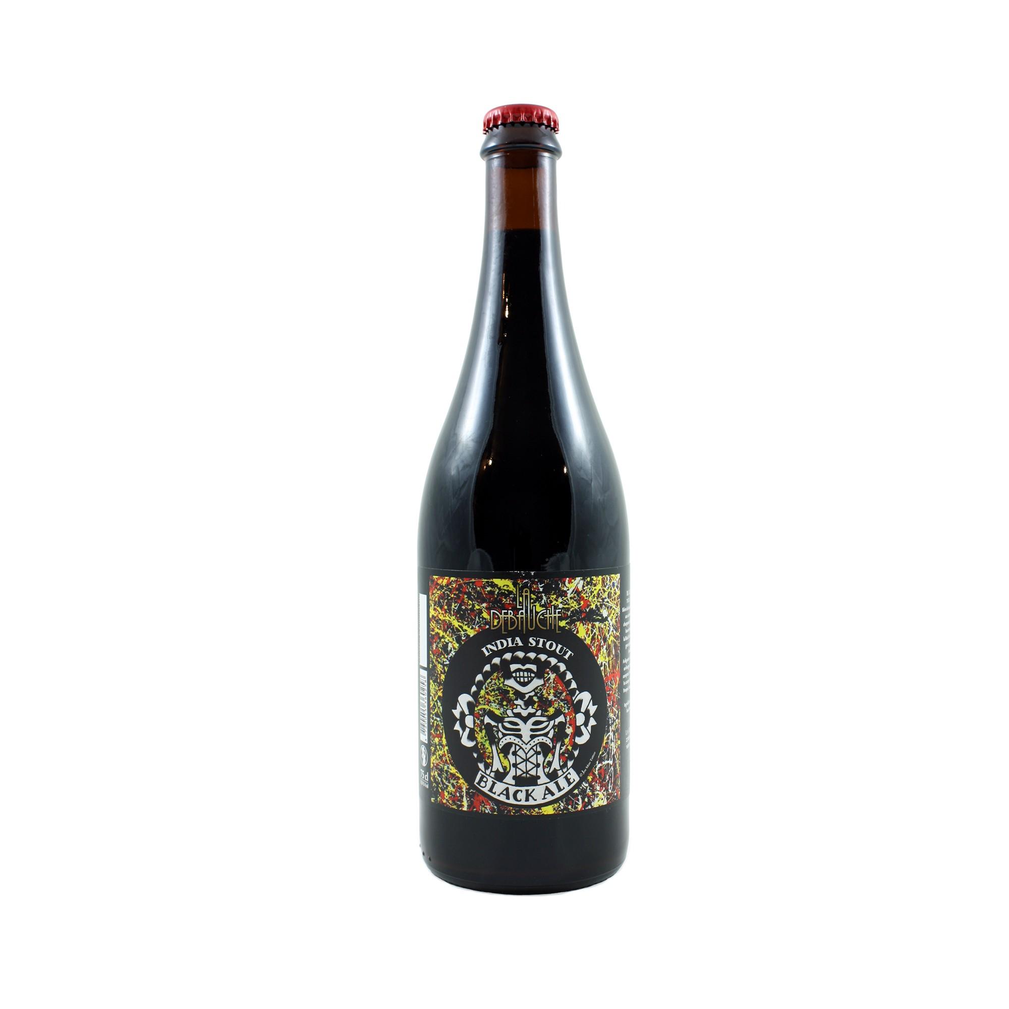 Black Ale India Stout 75 cl