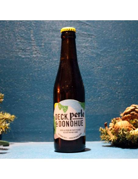 Deck, Perle & Donohue Septembre 2018 Houblon Barbe Rouge - 33 cl