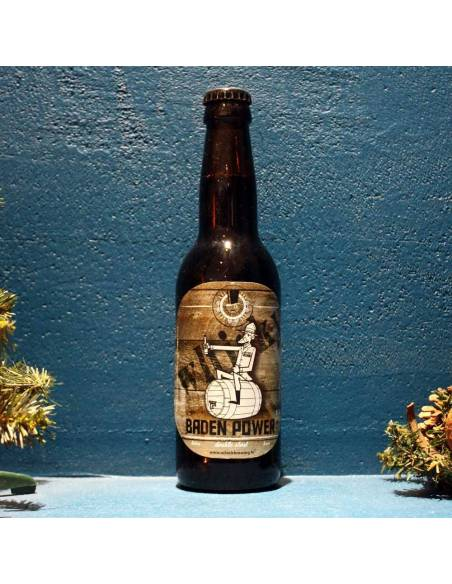 Baden Power Double Stout Whisky BA - 33 cl