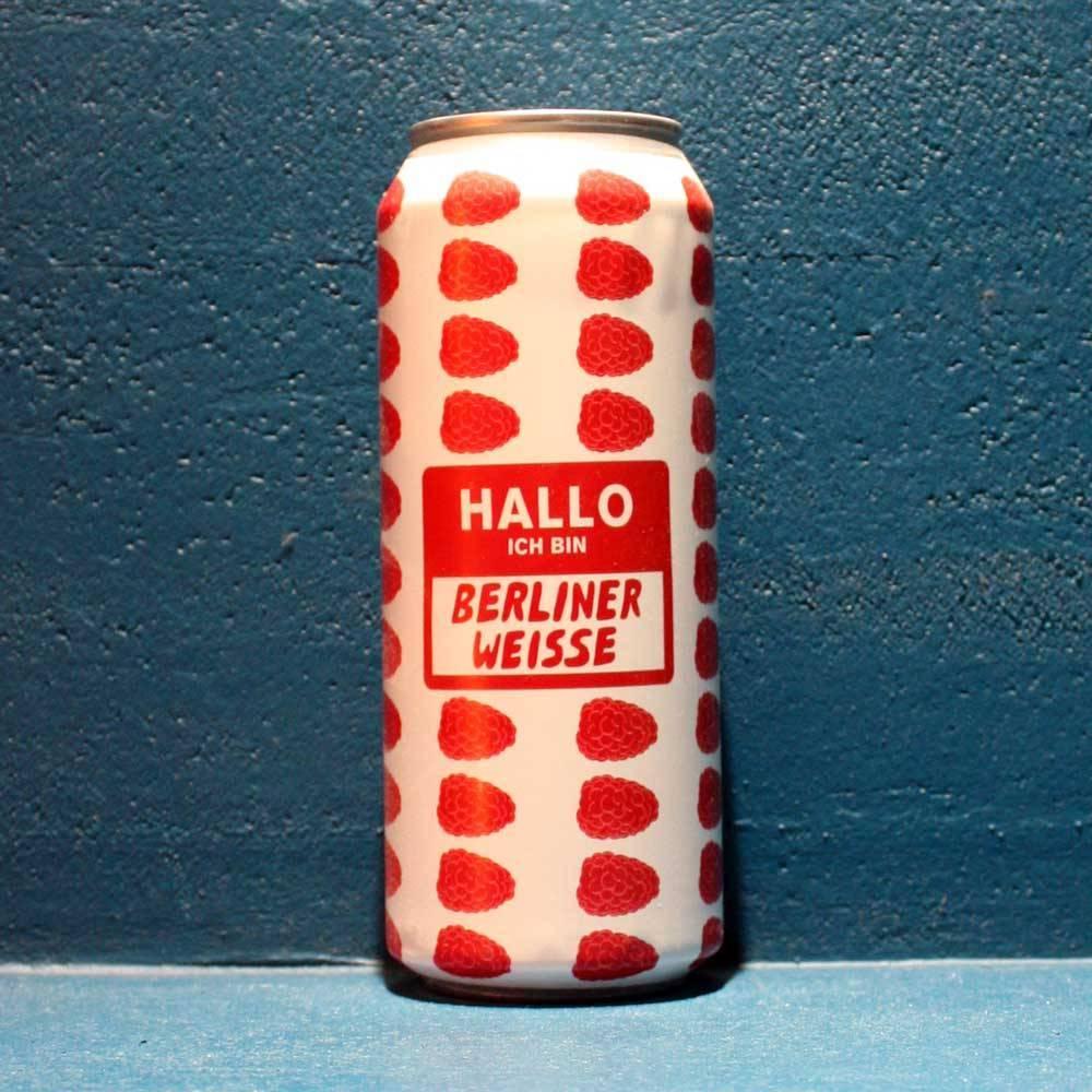 Hallo Ich Bin Berliner Weisse Raspberry 50 cl