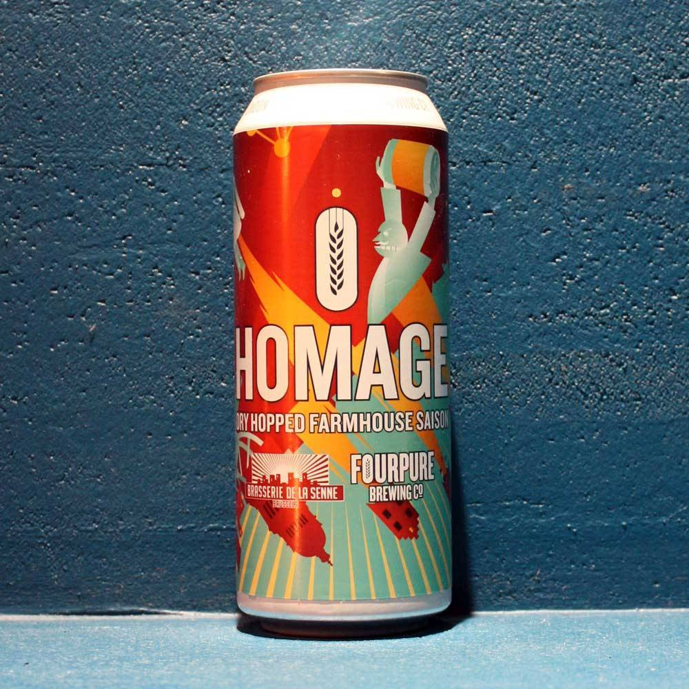 Homage Dry Hopped Farmhouse Saison 50 cl