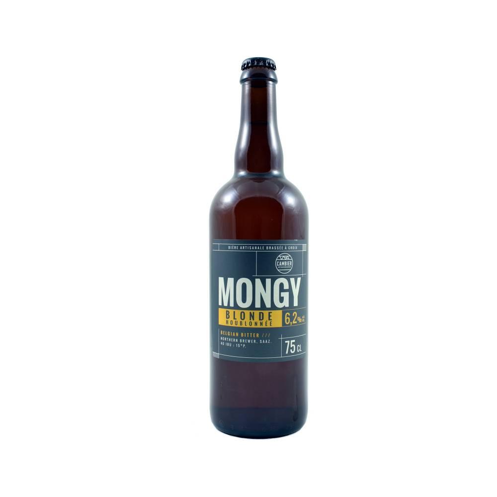 Mongy Blonde Houblonnée 75 cl