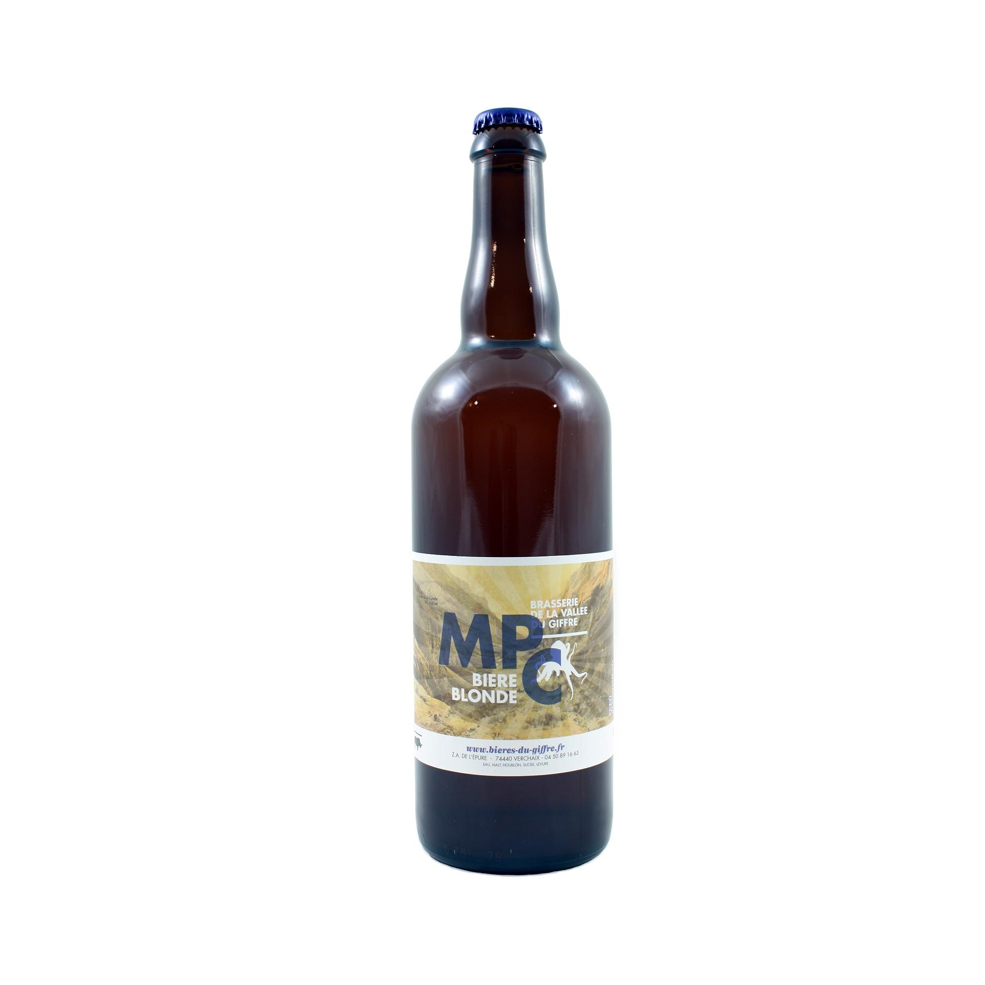 MPC Bière Blonde 75 cl