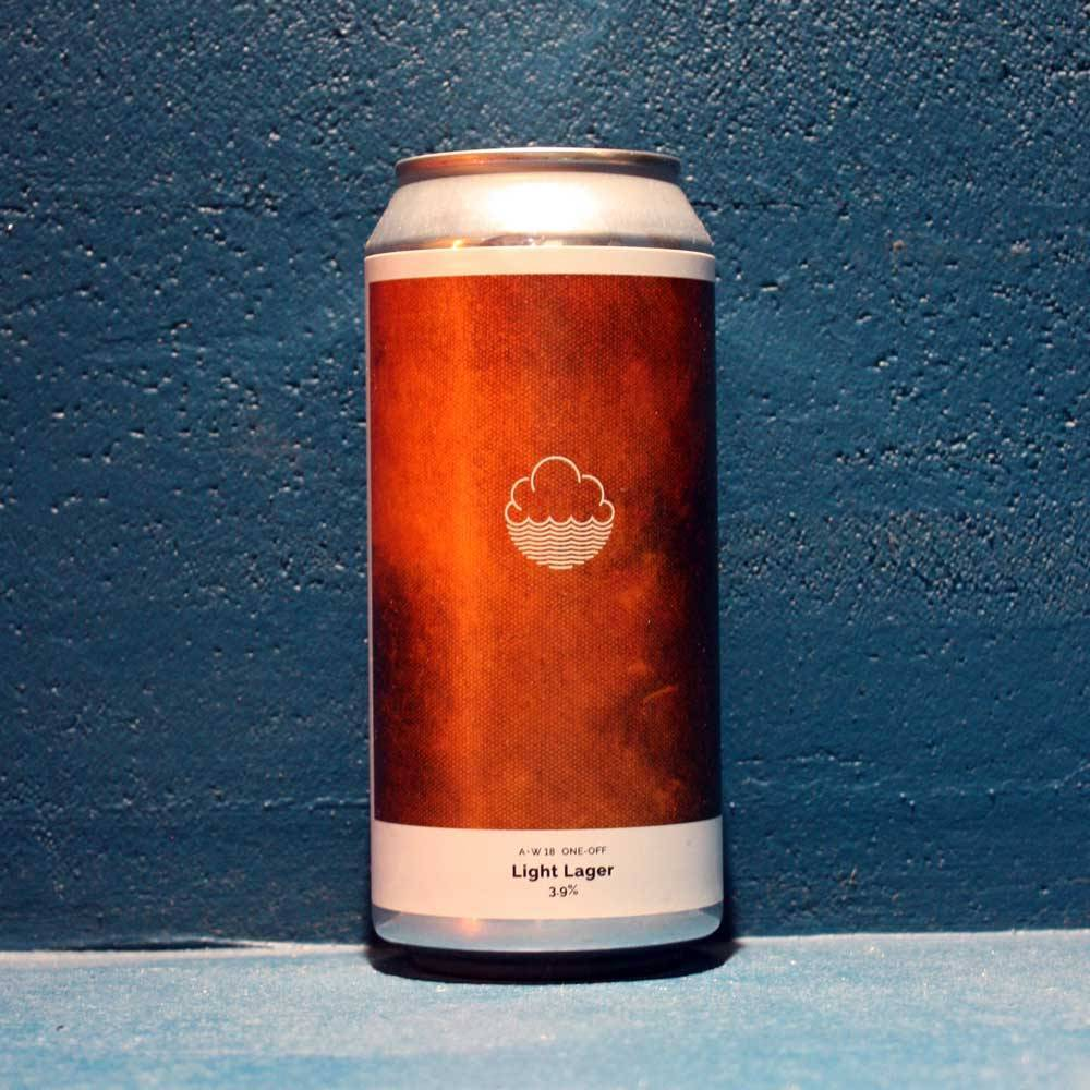 A•W18 One-Off Light Lager - 44 cl - Cloudwater