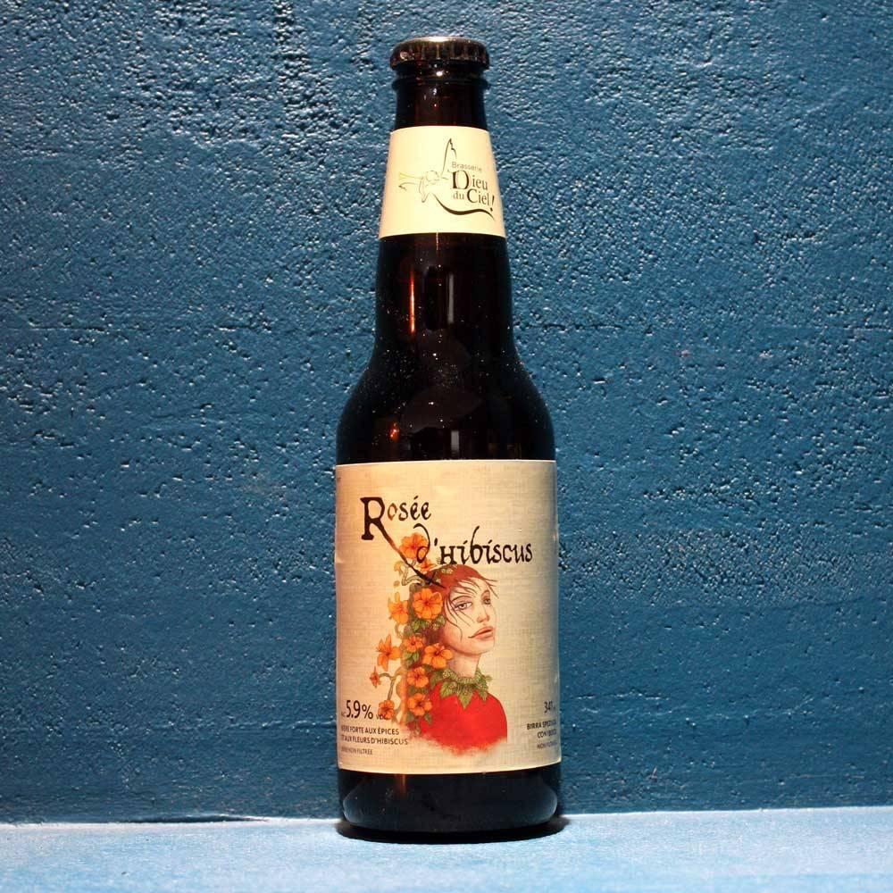 Rosée d'Hibiscus - 34,1 cl - Brasserie Dieul du Ciel