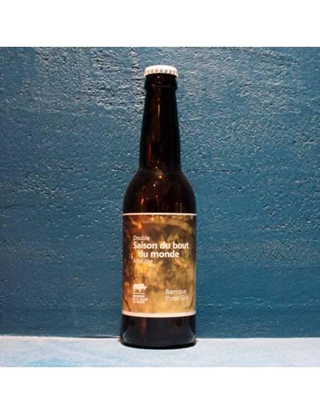 Double Saison du Bout du Monde Acidulée Barrique Pinot Gris - 33 cl