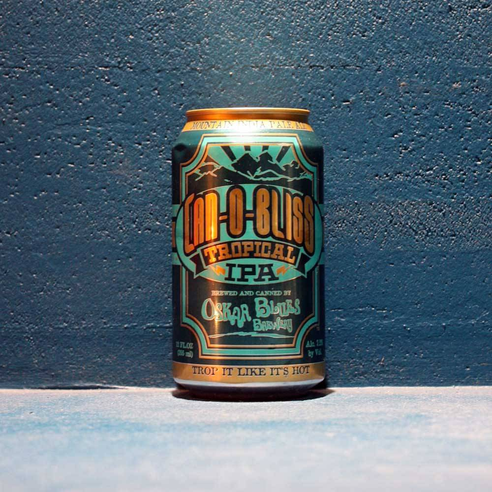 Can-O-Bliss Oskar Blues Brewing Company Bière Artisanale Craft Beer Tropical IPA Bieronomy