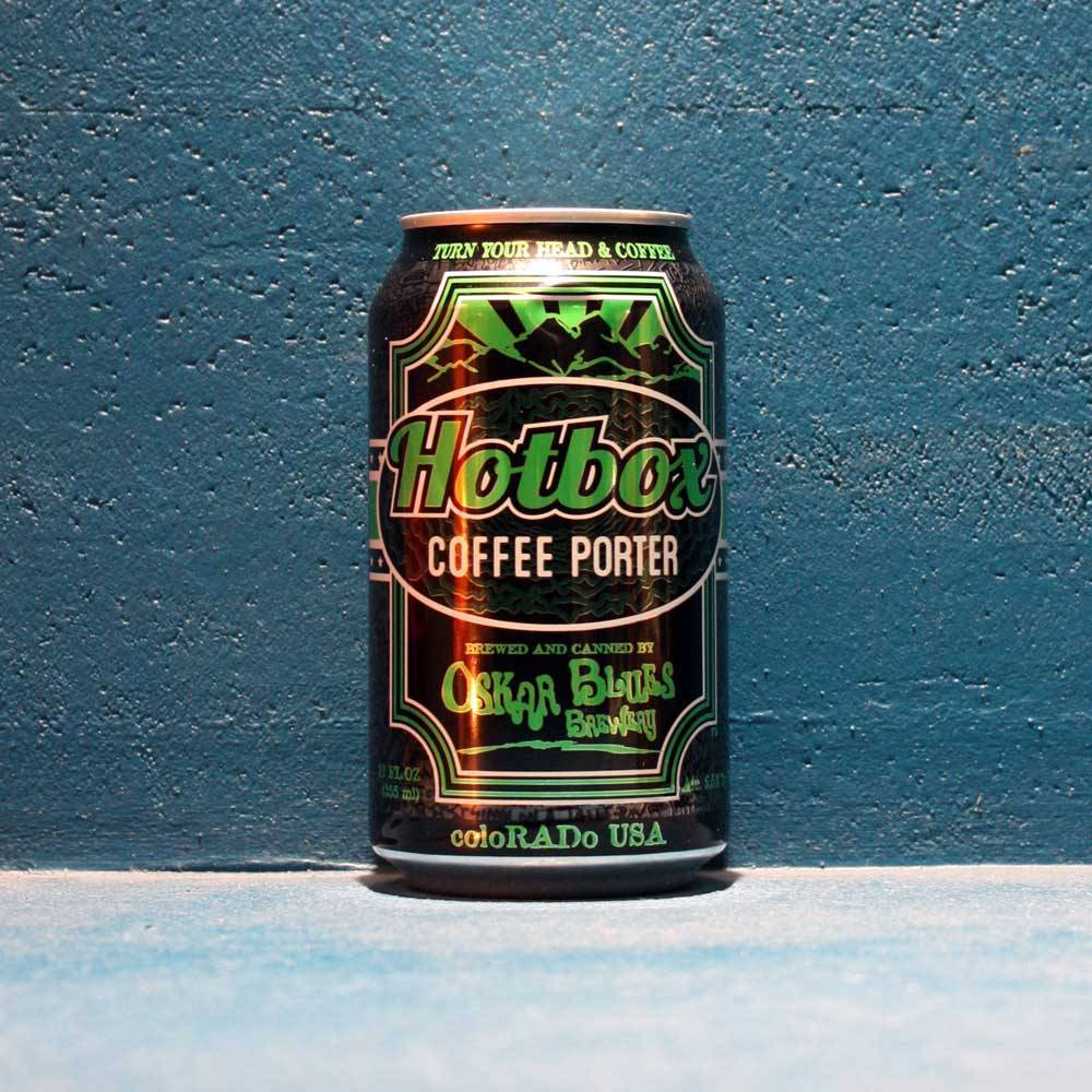 Hotbox Coffee Porter - 35,5 cl - Oskar Blues Brewery