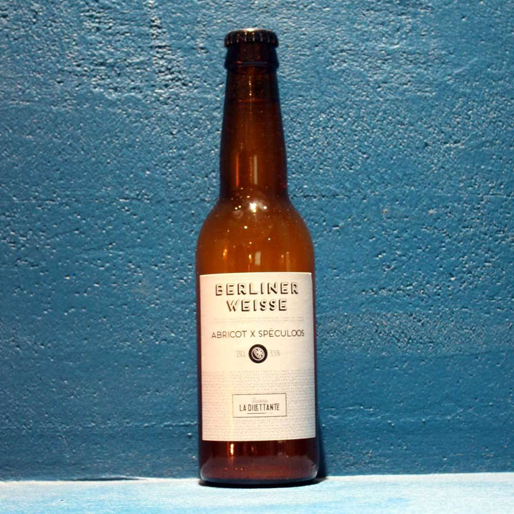 Berliner Weisse Abricot Speculos - 33 cl - Brasserie La Dilettante