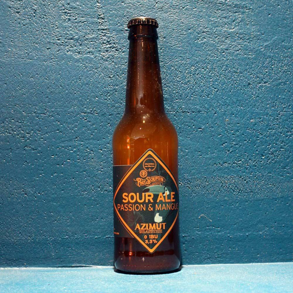 Sour Ale Passion & Mangue - 33 cl - Azimut Brasserie